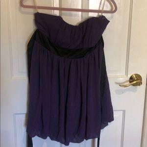Purple dress forever 21